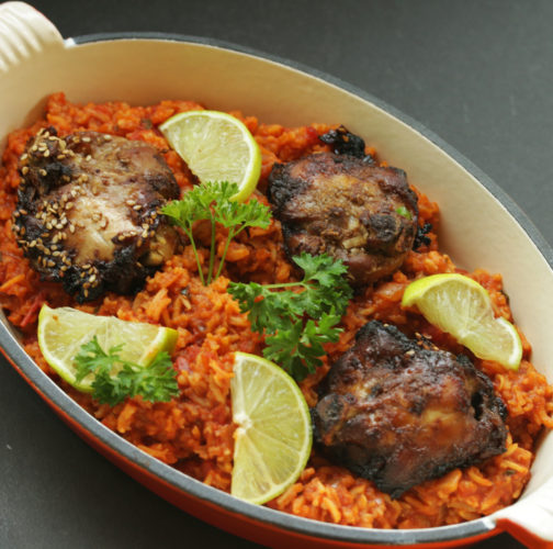 Ghanaian-Jollof-Rice