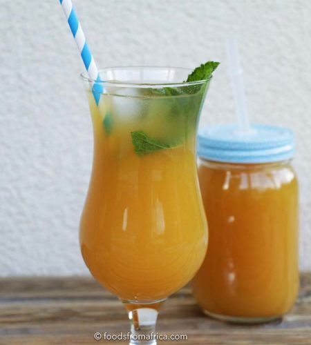 african-mango-and-lemon-iced-tea