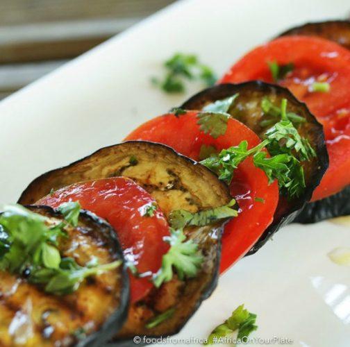 marinated+tomato+and+baked+aubergine+salad