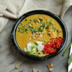 West African Vegetarian Peanut (Groundnut) and Sweet Potato Curry