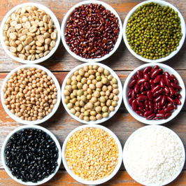 african grains and african legumes