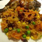 Ghanaian Jollof Rice With Pomegranates