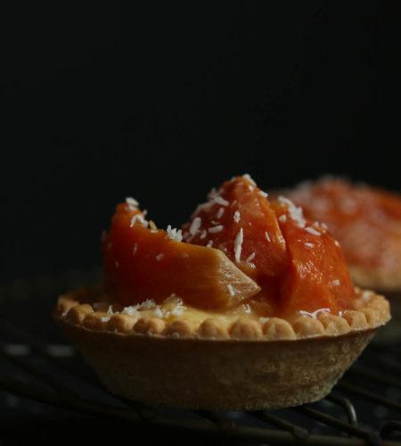 african-star-apple-egg-custard-tartlet
