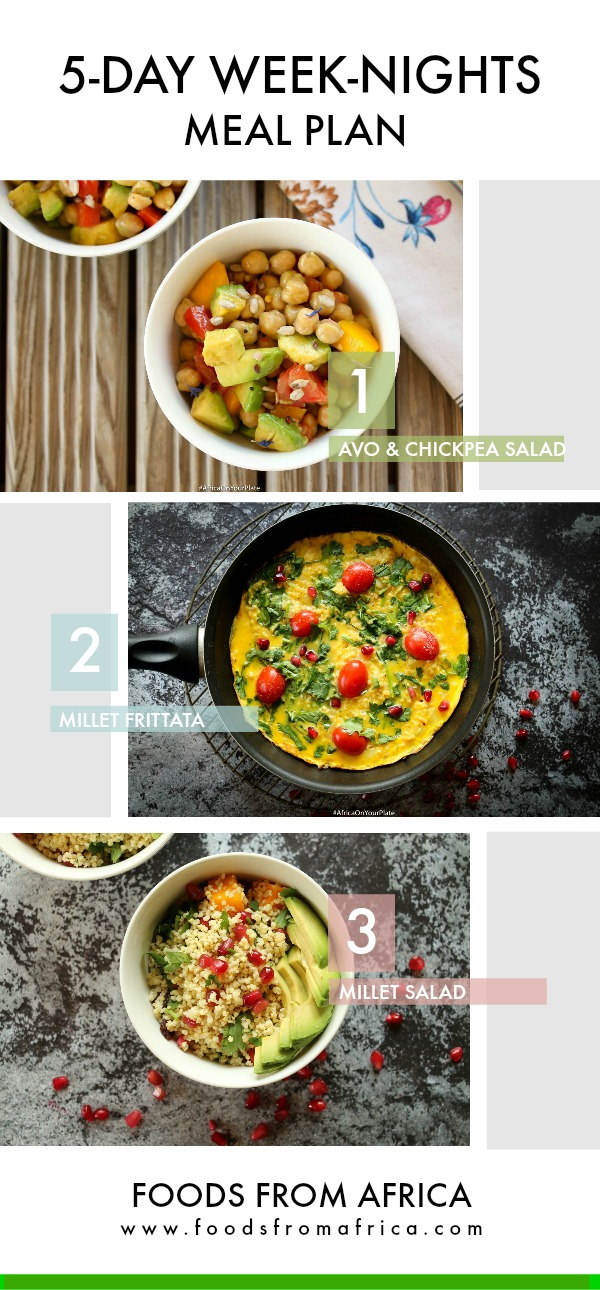 5 day meal plan african traditional diet