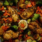 Sheet Pan Ethiopian Chicken and Potatoes
