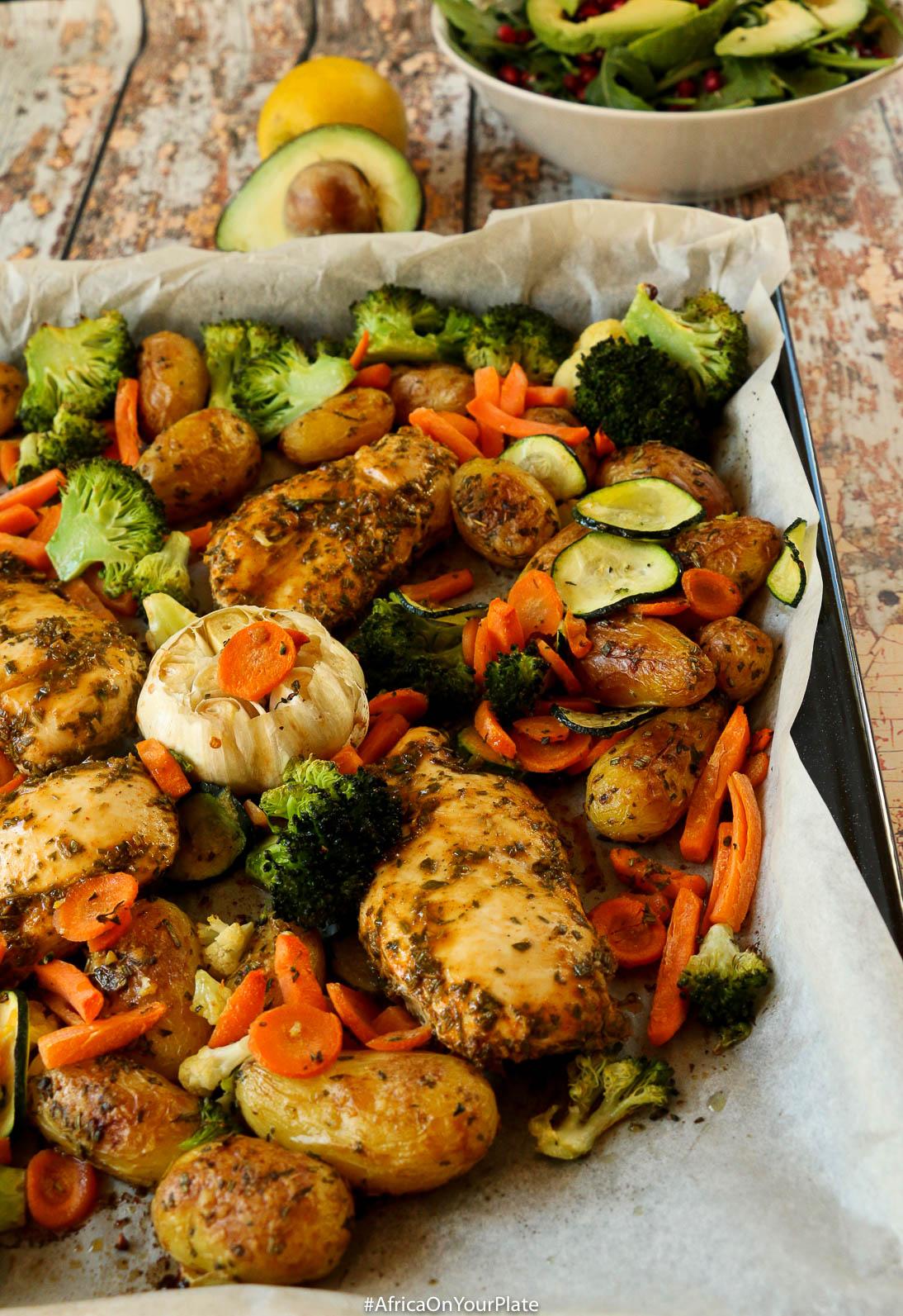 sheet pan ethiopian chicken and potatoes-2
